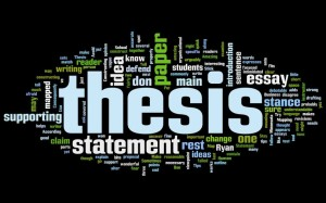 exercise thesis statement